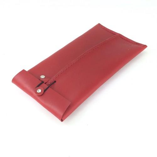 革封筒 革:赤