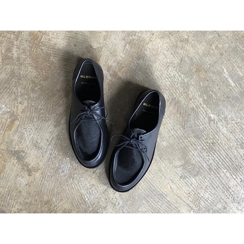 KLEMAN(クレマン) Unborn Calf Tirolean Leather Shoes