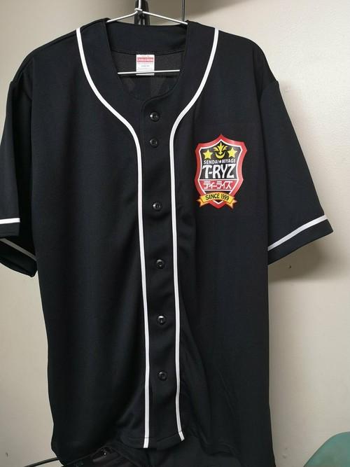 【一次募集】ティーライズゲーム部ユニフォーム(ベースボールシャツ)