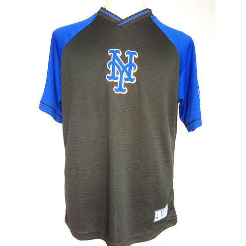 NY ニューヨーク METS メッツ MLB レプリカ バッティングジャージ L 1701
