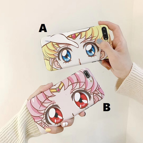 【オーダー商品】Cute girl eye iphone case