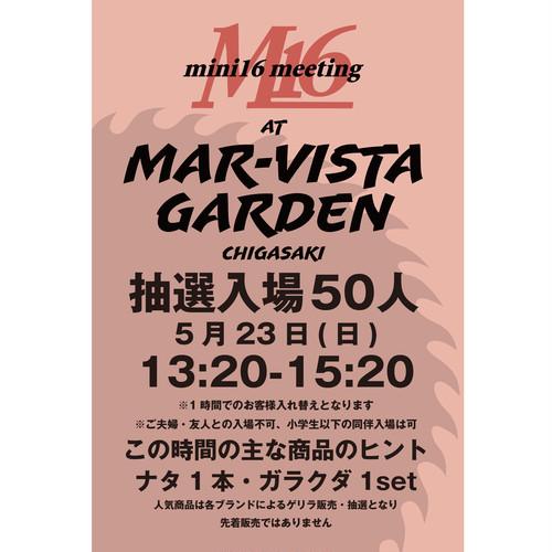 5月23日 午後の部 M16 meeting at Mar-Vista Garden