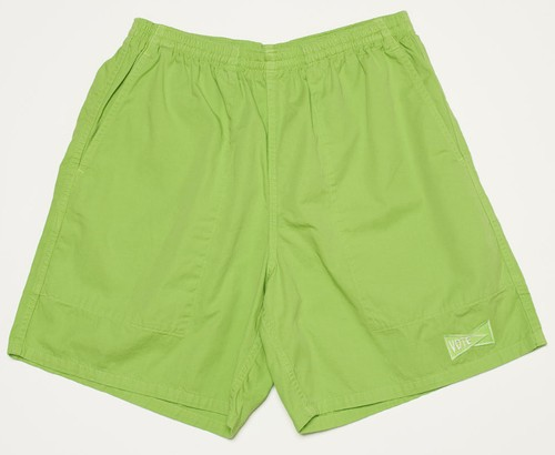 VOTE NEON SHORTS - LIME GREEN