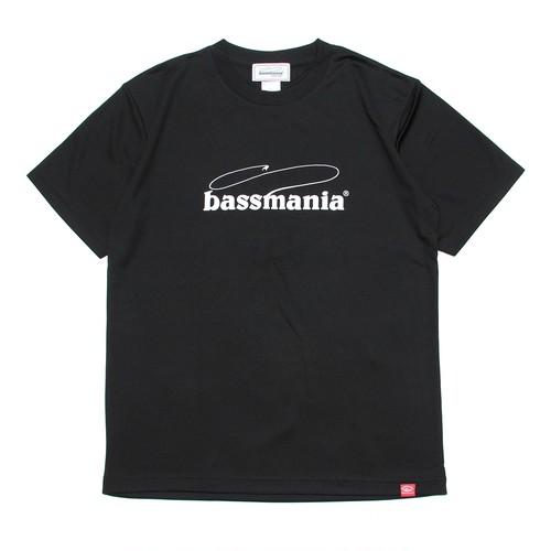 bassmania logo dry Tシャツ  [BLK]