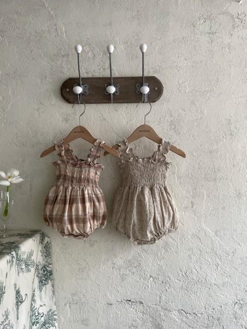 『翌朝発送』French baby-suit【baby】〈monbebe〉