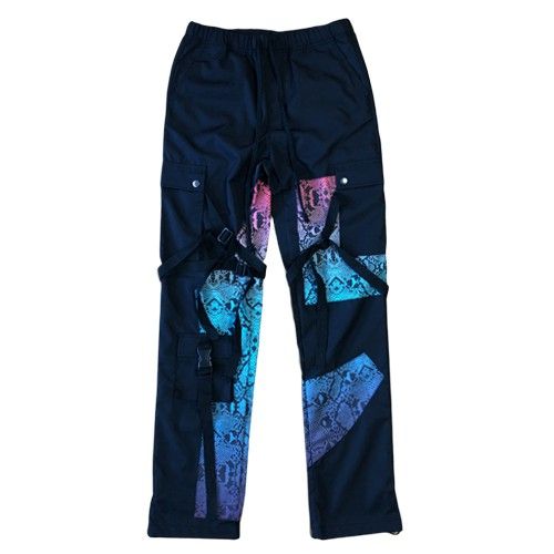 ROGIC Python Nylon Bontage Pants MULTI GRADATION