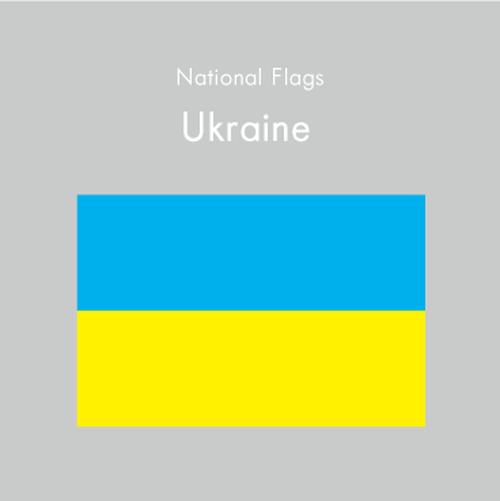 国旗ステッカー ウクライナ