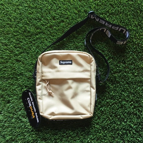 【SUPREME】 -シュプリーム-SS18 CORDURA RIP STOP NYLON SHOULDER BAG TAN