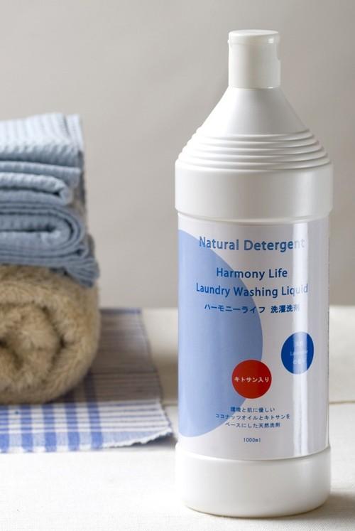 天然素材だけで作った洗濯用洗剤1,000ml ≪ハーモニーライフ≫