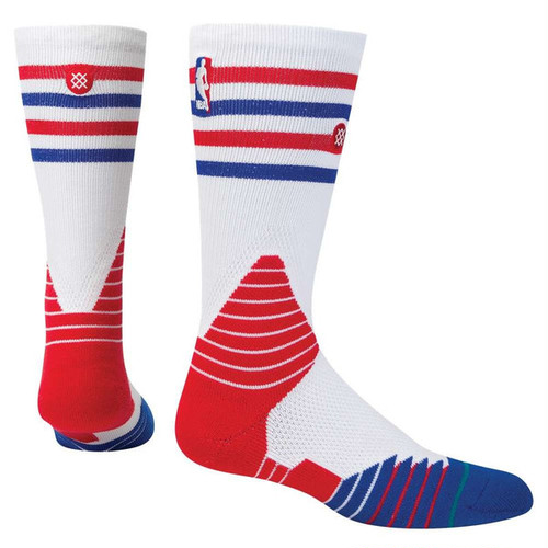 STANCE FUSION CREW SOCKS Blue×Red