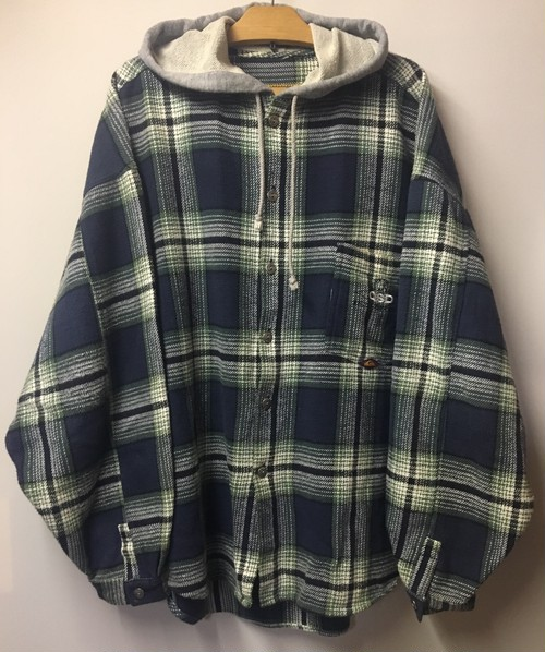 QUIKSILVER Hooded Flannel Shirt