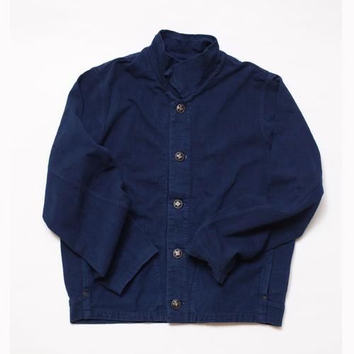 WORK-ER パッチジャケット(ダークブルー/藍染)