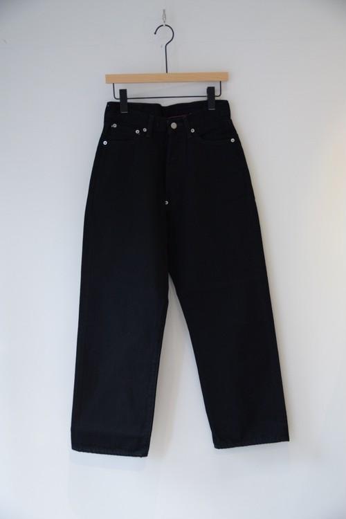【ordinary fits】FARMERS 5P BLACK DENIM one wash/OM-P108BOW