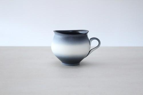 """陶芸作家【藤岡光一】round coffee cup  コーヒーマグカップ丸型  """"淡雪"""""""