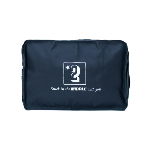 No.2 Travel Pouch (Print) Black LO-STN-PC02
