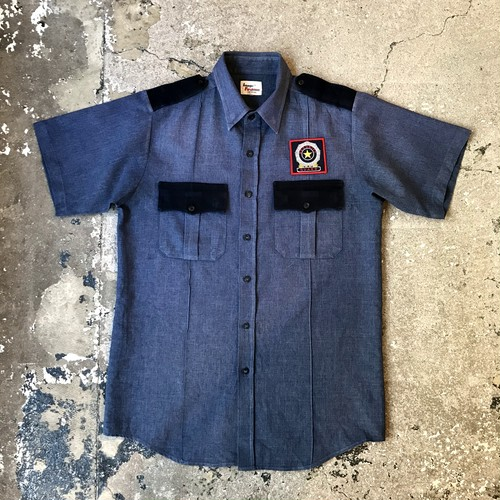 "S/S Work shirt ""Security Guard"""