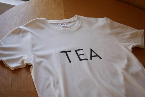 オリジナルTシャツ「TEA」シャツ ナチュラル