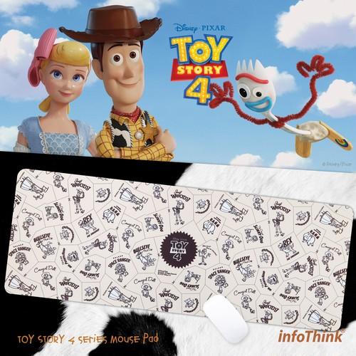 InfoThink マウスパッド Disney トイ・ストーリー4 タブレット