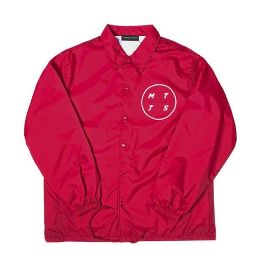 NYLON COACH JACKET M381120-RED/ コーチジャケット MARATHON JACKSON マラソン ジャクソン