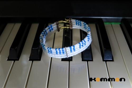 *ピアノジャック風ピアノ鍵盤うでわ