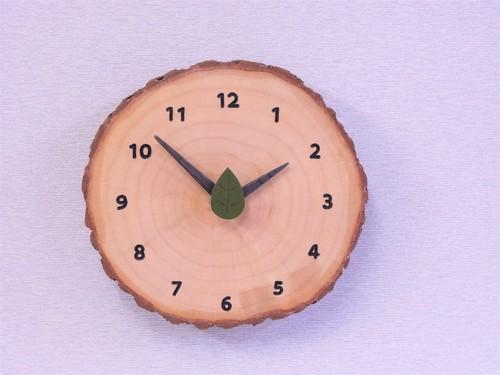 森の掛け時計 イチョウ