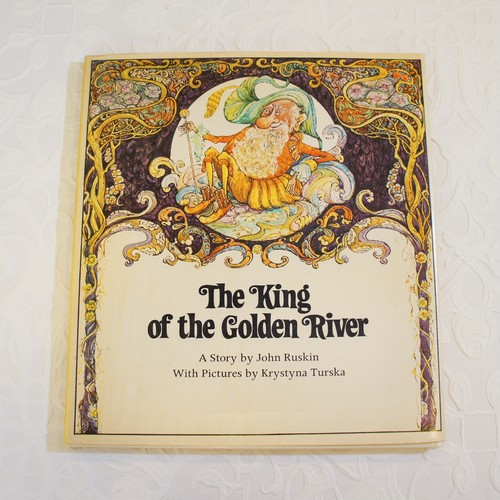 "1978年製 絵本 ""The King of the Golden River""   [OB-1]"