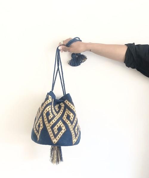 【予約】ワユーバッグ(Wayuu bag) Exclusive line Mサイズ Kinchaku