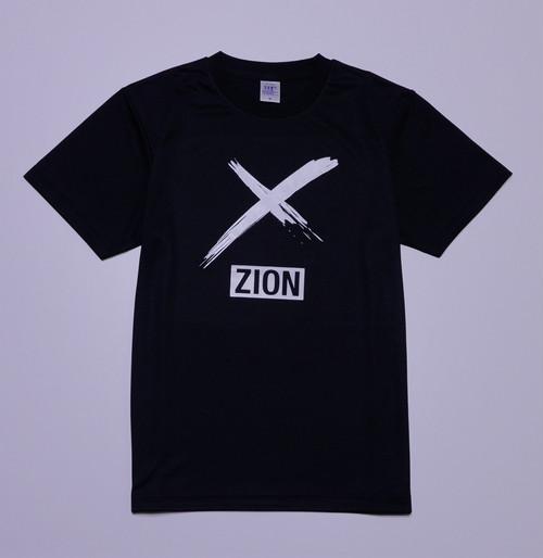 """pt2019003-black """"X""""ZION  practice tee プラクティスシャツ"""