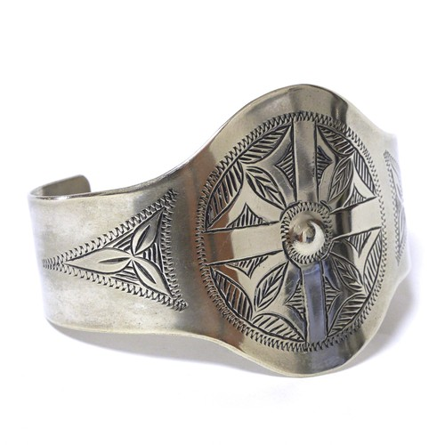 African Tuareg Silver Bangle