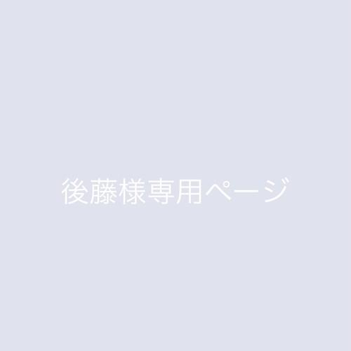 後藤様専用ページ