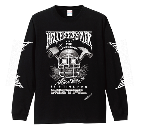 IT'S TIME FOR METAL  LONG SLEEVE T-SHIRT