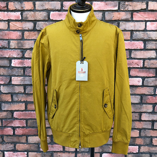 Deadstock Baracuta G9 Four Climes W/Flag Mustard UK44
