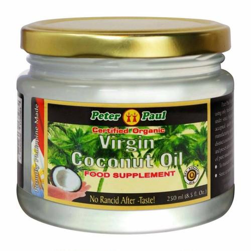 オーガニック エキストラバージンココナッツオイル  (250 g)/peter paul