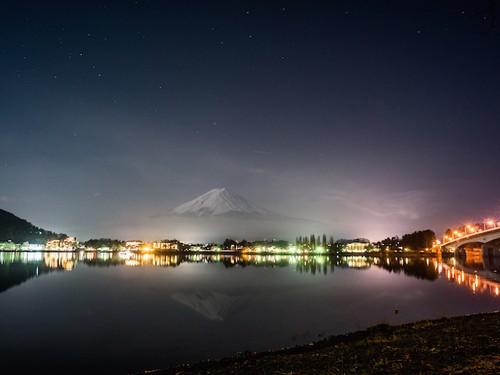 [8245161]夜の逆さ富士