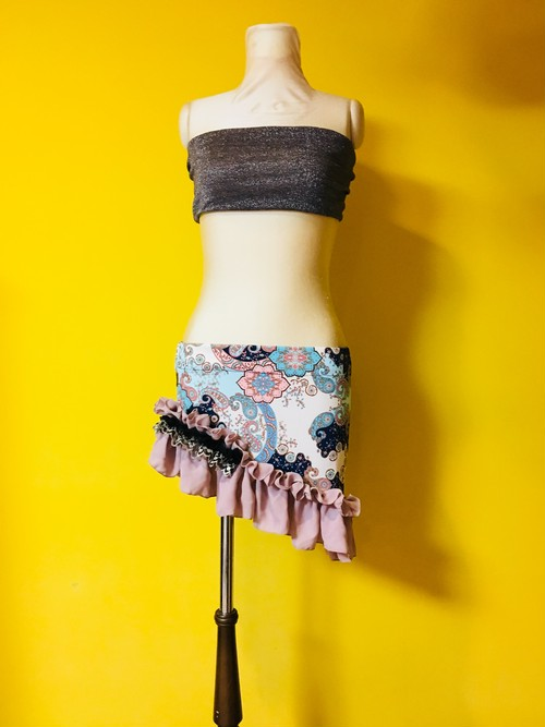 belly dance◇Frizzy◇hip skirt◇118