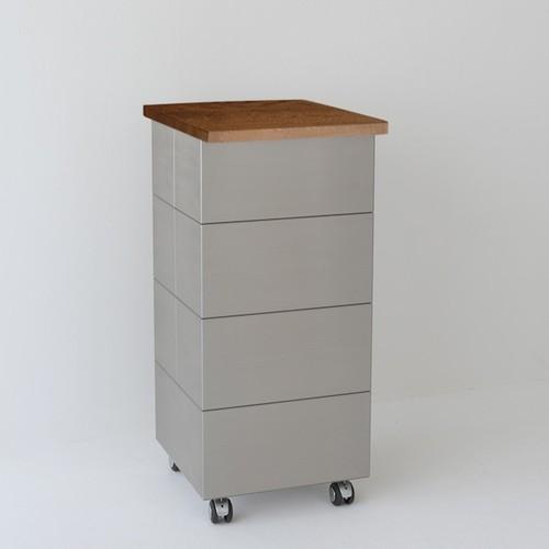 PB-2W/ゴミ箱(30L×1)     トラッシュボックス