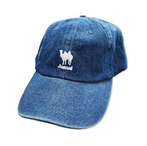Jamal ラクダ ワンポイントロゴ デニム CAP(キャップ)