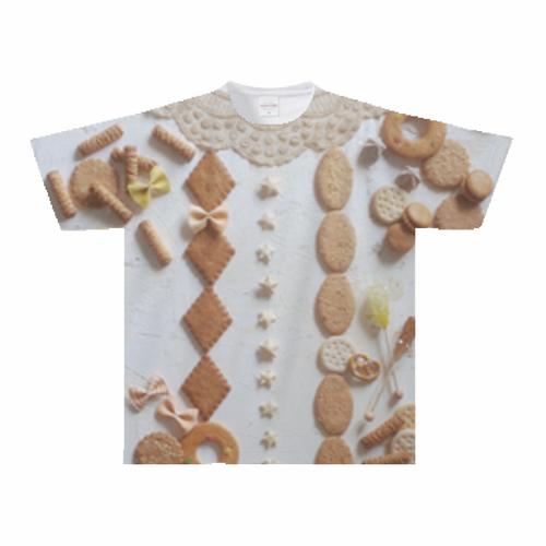 お菓子の国Tシャツ