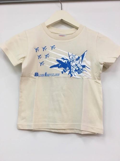 キッズTシャツ ブルーインパルス【白色】
