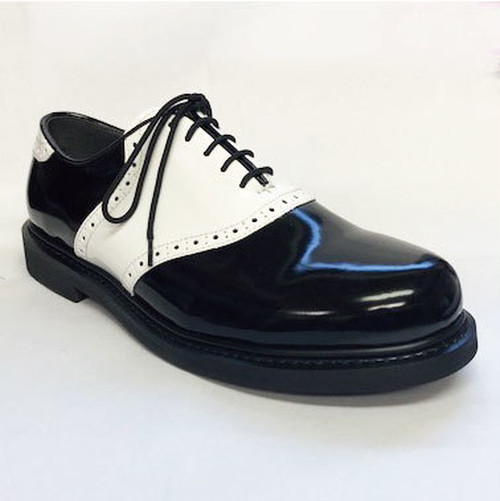 【Reguler Line】SADDLE SHOES BLACK/WHITE SOLE BLACK KE2533