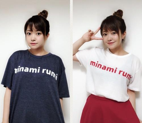 『minami rumi』ロゴTシャツ