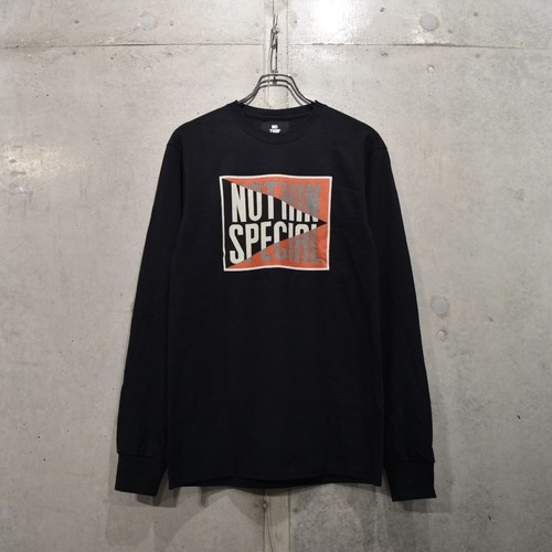 NOTHIN'SPECIAL LUCKY LONG SLEEVE / BLACK