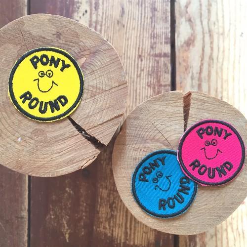 pony go round nico mini wappen