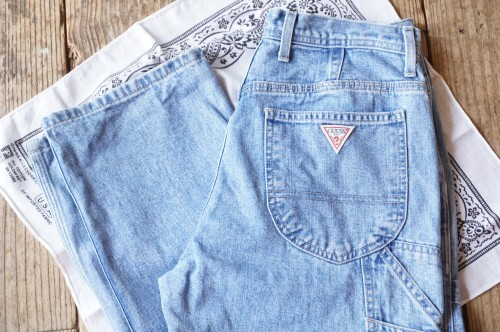 """80's GUESS carpenter style Pants """"Made in U.S.A."""""""