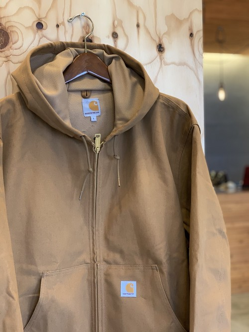 CARHARTT Duck Thermal-Lined Active Jacket BROWN