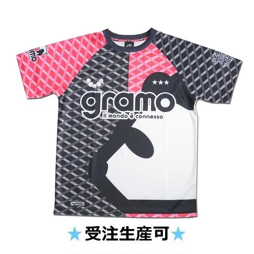 プラクティスシャツ「gene」(ピンク/P-052)☆受注生産可☆
