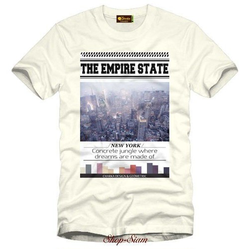 Empire state Art Printing T-Shirts