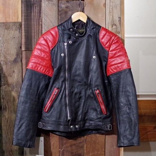 1970s Euro Two-tone Riders Jacket / Made in France / Monza Style
