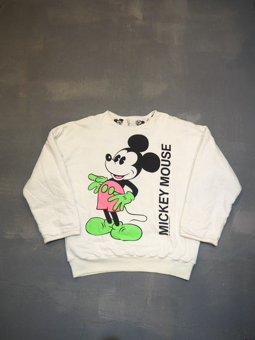 Mickey Mouse Reversible Sweatshirt [H-216]