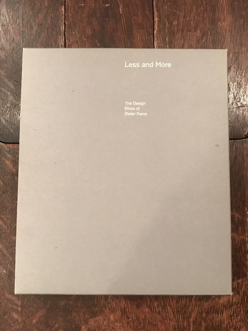 Less and More / Dieter Rams (ディーター・ラムス)